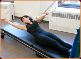 Physical Therapies - Stretching - Pilates