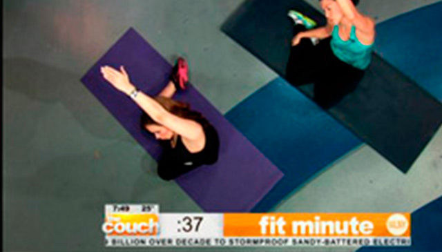CBS2 NY Live From The Couch: Mermaid Stretch