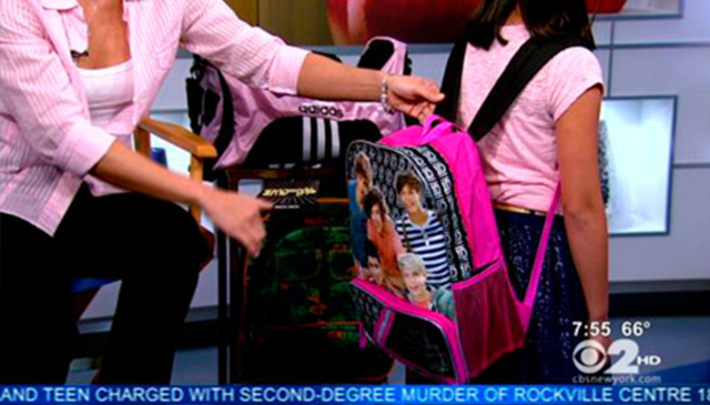 WCBS2 Sunday Morning News: Backpack Safety Tips
