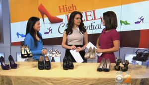CBS2: Interview: Choosing High Heels That Are Safe